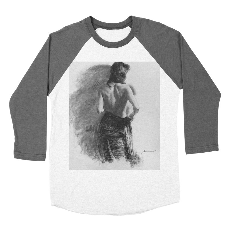 Repose Men's Baseball Triblend Longsleeve T-Shirt by Draw Juice Custom Art Prints