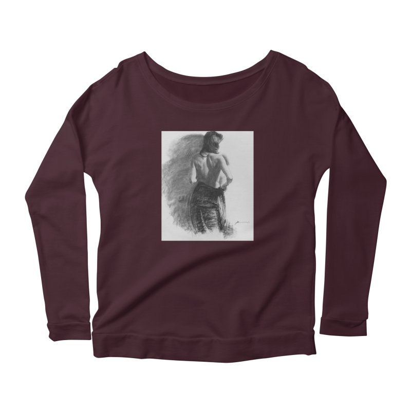 Repose Women's Longsleeve T-Shirt by Draw Juice Custom Art Prints