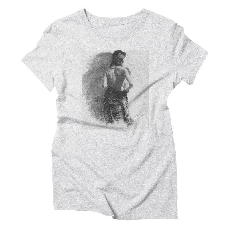 Repose Women's Triblend T-Shirt by Draw Juice Custom Art Prints