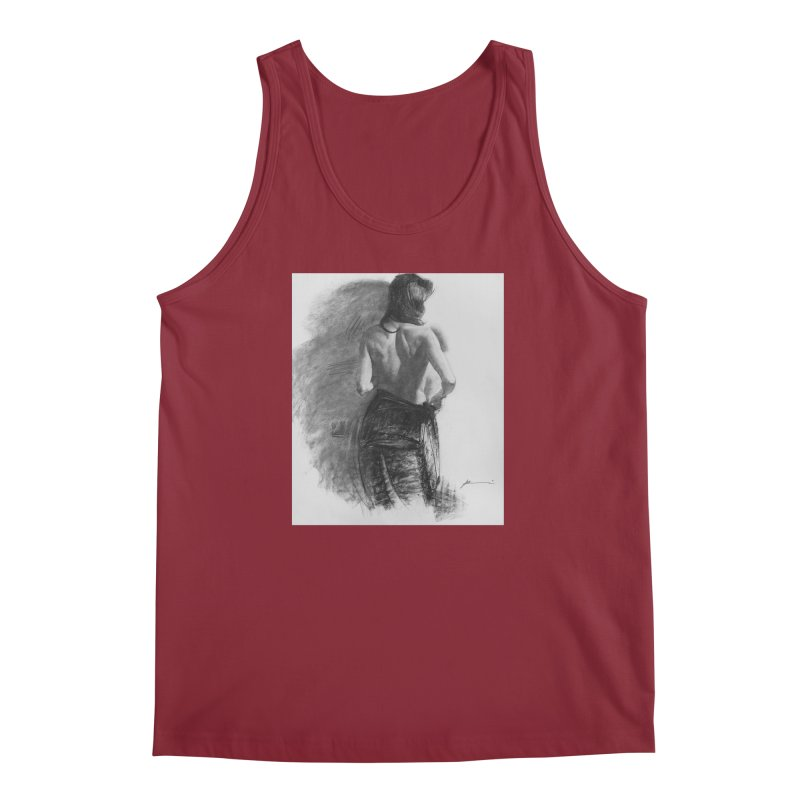 Repose Men's Regular Tank by Draw Juice Custom Art Prints