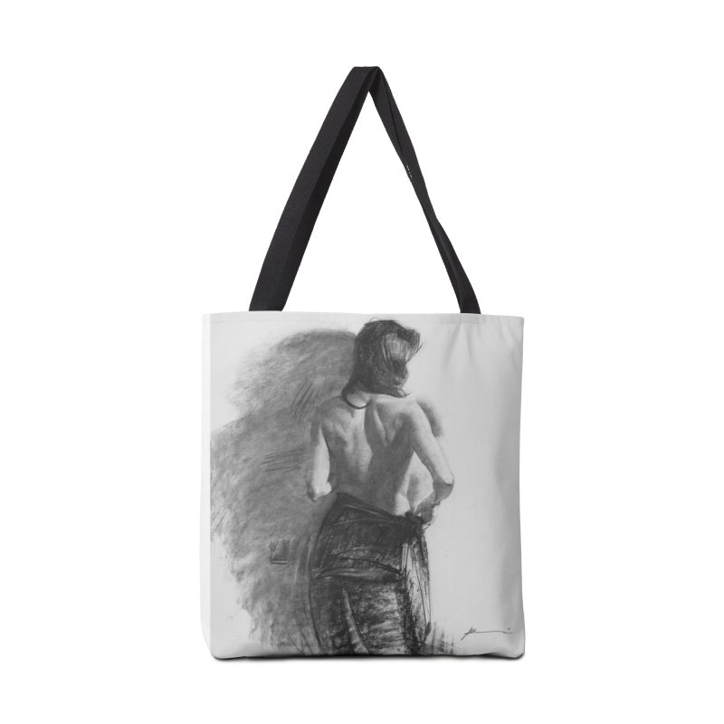 Repose Accessories Tote Bag Bag by Draw Juice Custom Art Prints