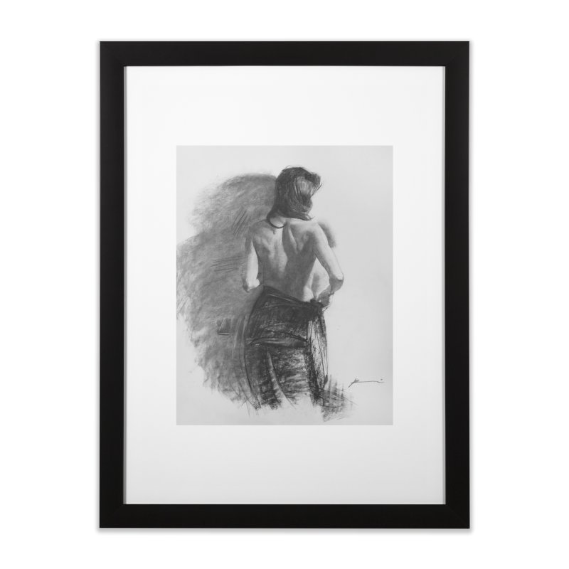 Repose Home Framed Fine Art Print by Draw Juice Custom Art Prints