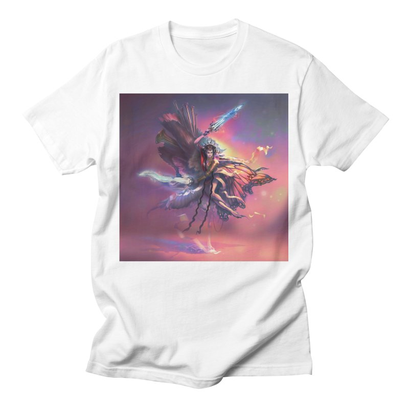 Angel Domini Women's T-Shirt by Draw Juice Custom Art Prints
