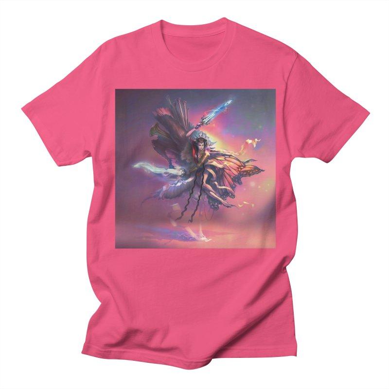 Angel Domini Men's Regular T-Shirt by Draw Juice Custom Art Prints