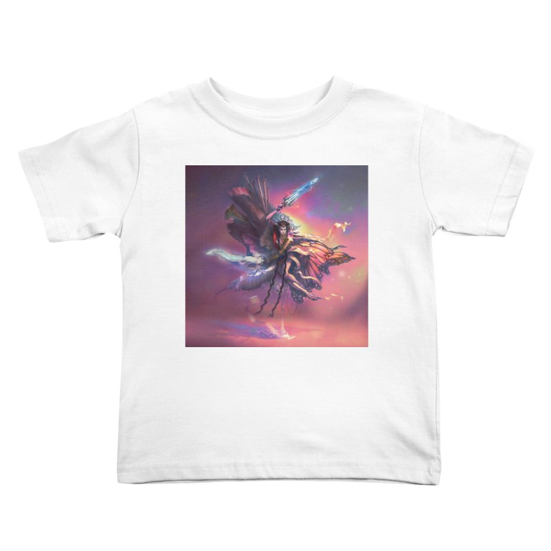 Angel Domini Kids Toddler T-Shirt by Draw Juice Custom Art Prints