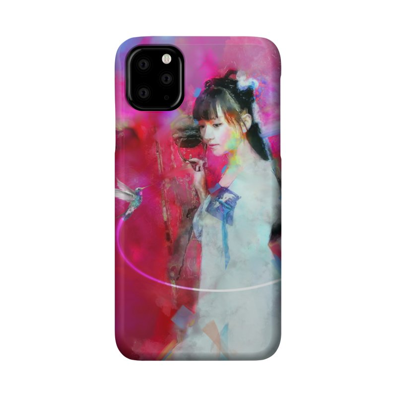 Hui Zi at the Red Door Accessories Phone Case by Draw Juice Custom Art Prints