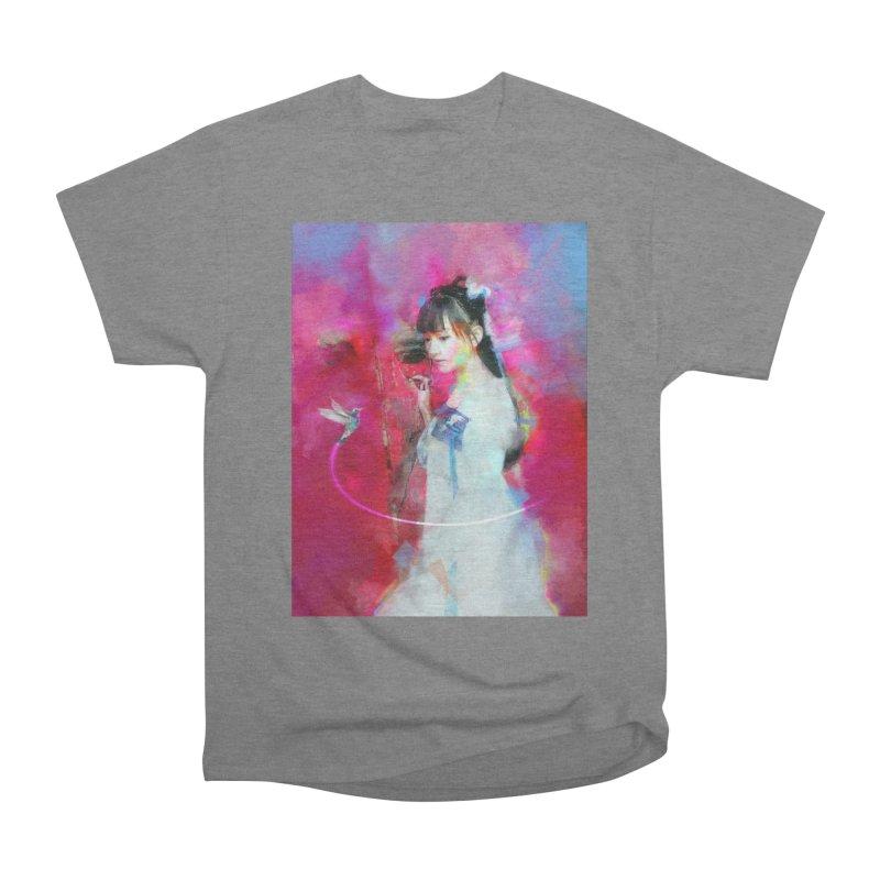 Hui Zi at the Red Door Women's T-Shirt by Draw Juice Custom Art Prints