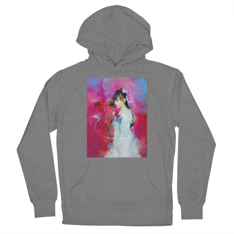 Hui Zi at the Red Door Women's Pullover Hoody by Draw Juice Custom Art Prints