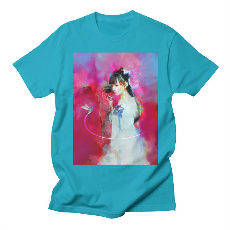 Hui Zi at the Red Door Women's Regular Unisex T-Shirt by Draw Juice Custom Art Prints