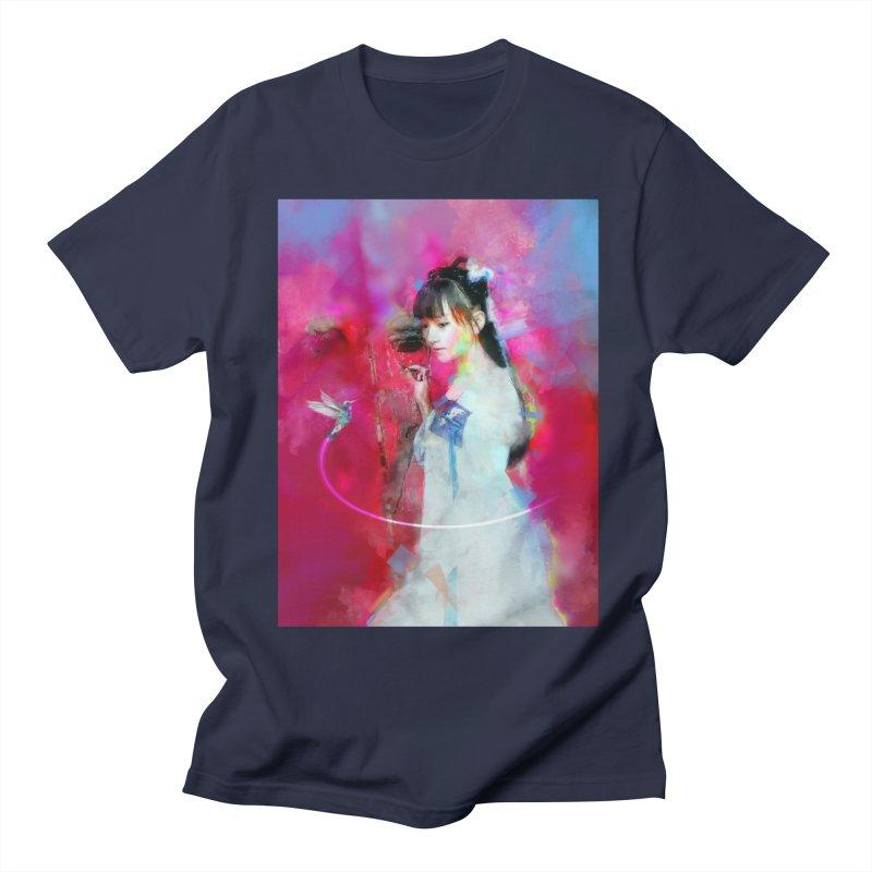 Hui Zi at the Red Door Men's Regular T-Shirt by Draw Juice Custom Art Prints