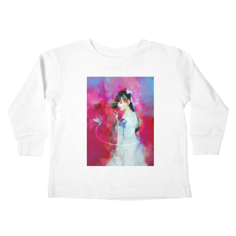 Hui Zi at the Red Door Kids Toddler Longsleeve T-Shirt by Draw Juice Custom Art Prints