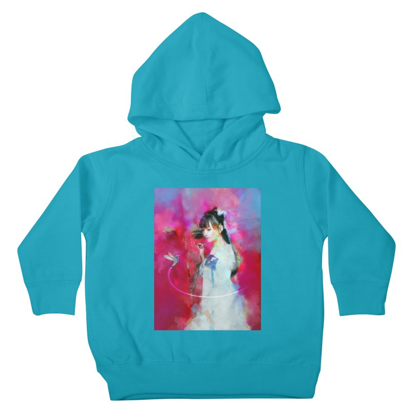 Hui Zi at the Red Door Kids Toddler Pullover Hoody by Draw Juice Custom Art Prints