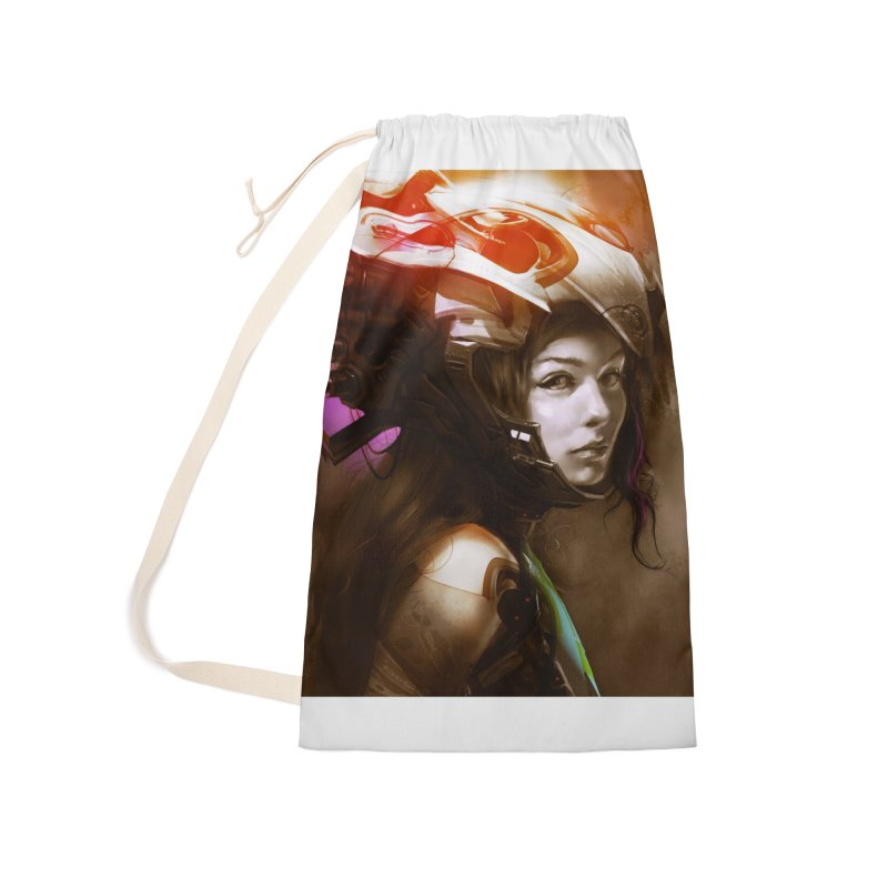 Hooked Up Accessories Bag by Draw Juice Custom Art Prints