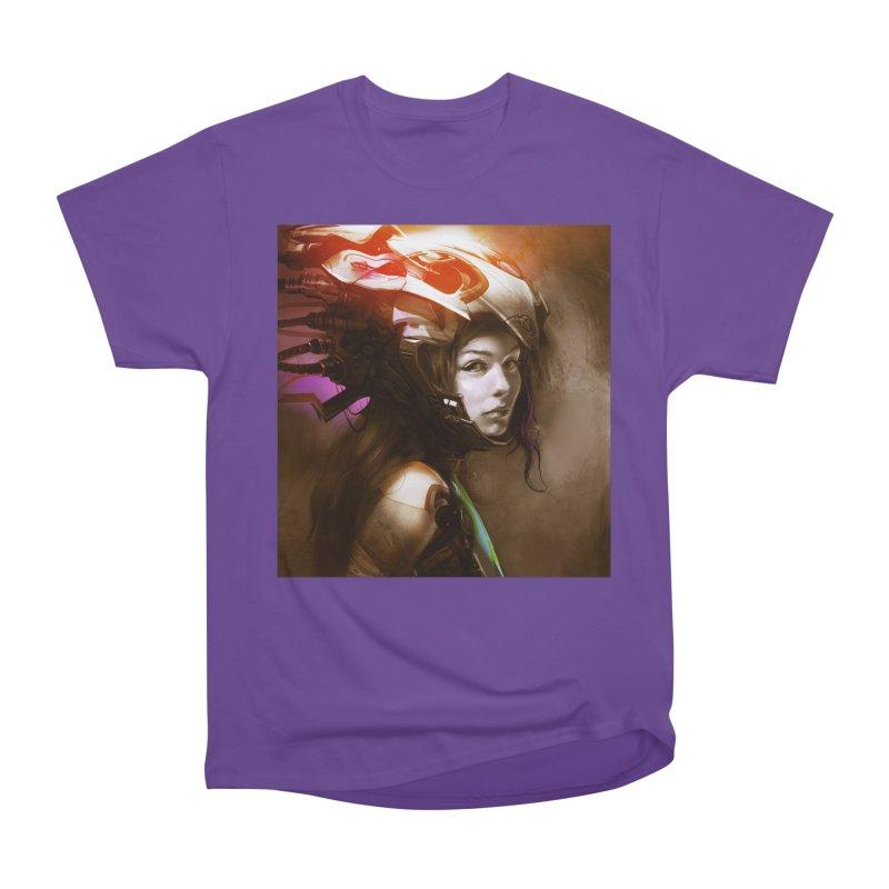 Hooked Up Women's Heavyweight Unisex T-Shirt by Draw Juice Custom Art Prints