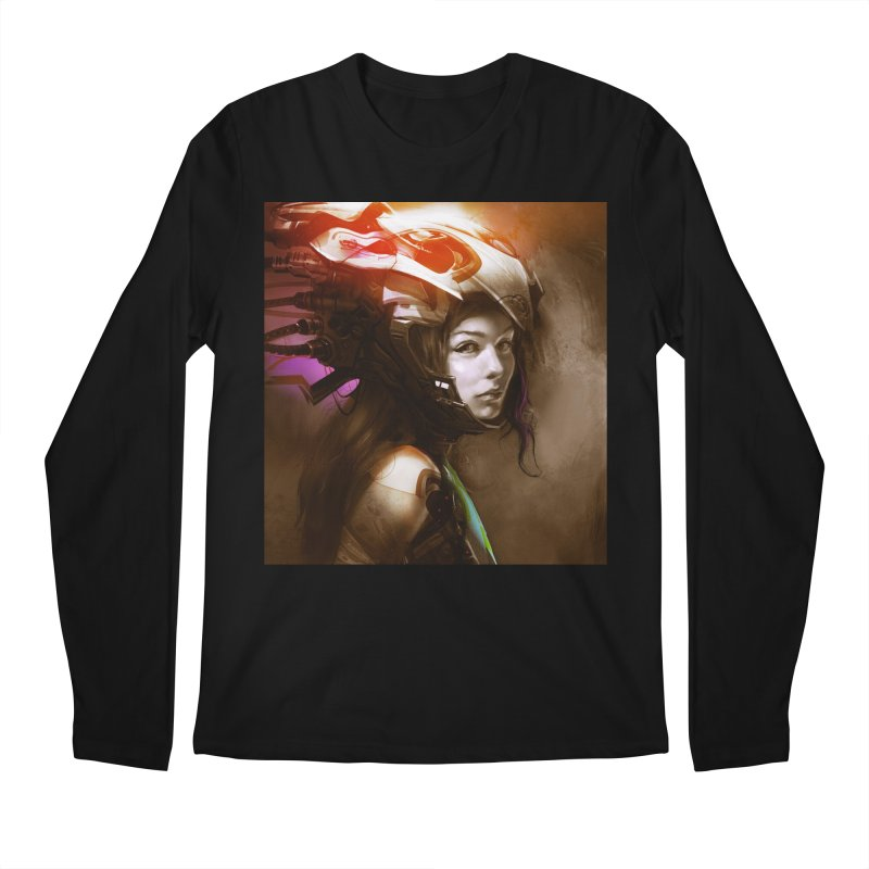 Hooked Up Men's Regular Longsleeve T-Shirt by Draw Juice Custom Art Prints