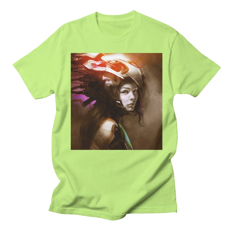 Hooked Up Men's Regular T-Shirt by Draw Juice Custom Art Prints