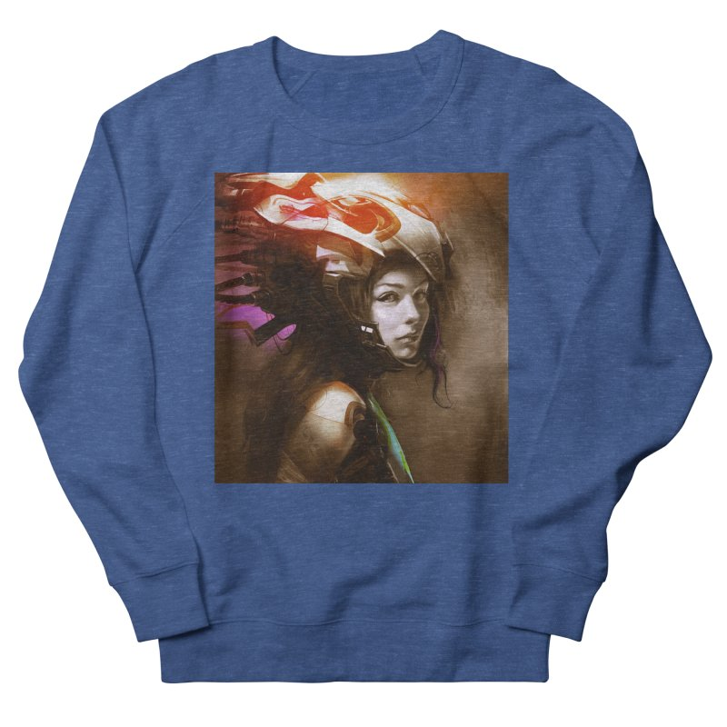Hooked Up Women's French Terry Sweatshirt by Draw Juice Custom Art Prints