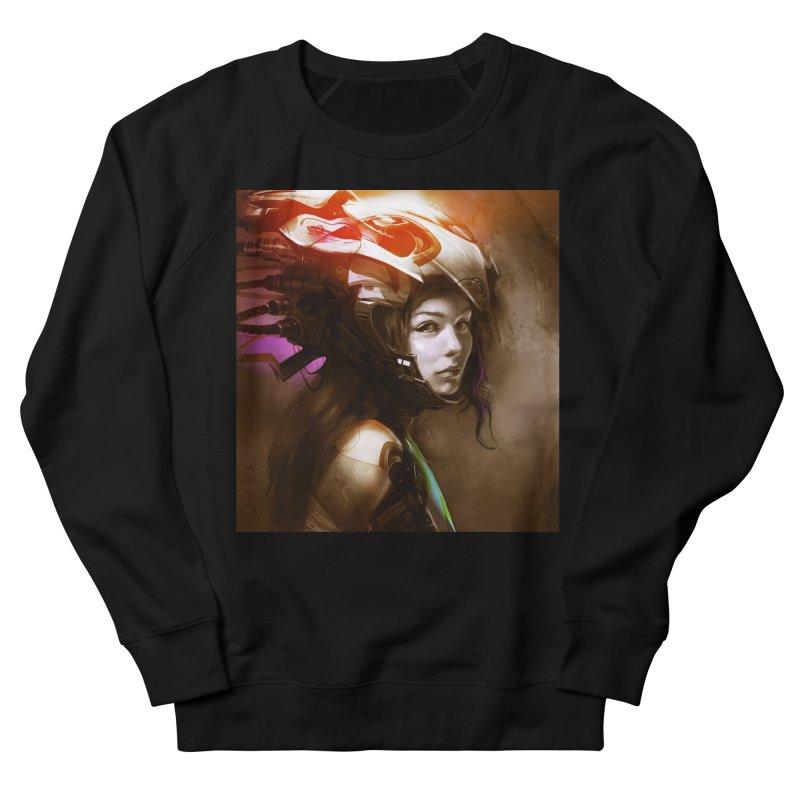 Hooked Up Women's French Terry Sweatshirt by Draw Juice Custom Art Prints