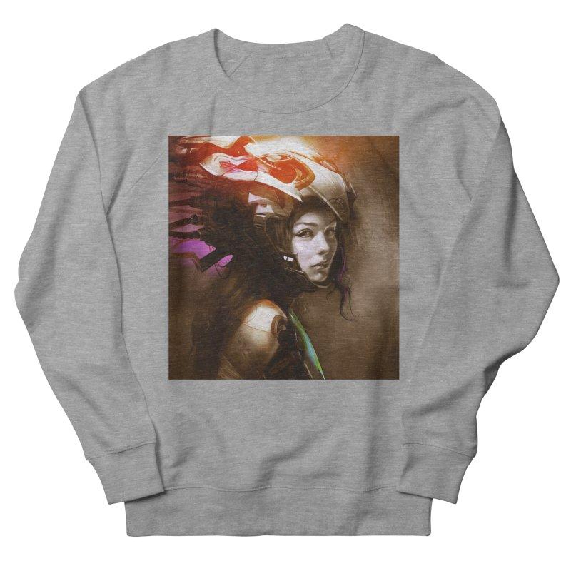 Hooked Up Men's French Terry Sweatshirt by Draw Juice Custom Art Prints