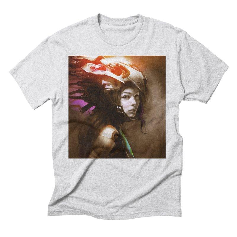 Hooked Up Men's Triblend T-Shirt by Draw Juice Custom Art Prints
