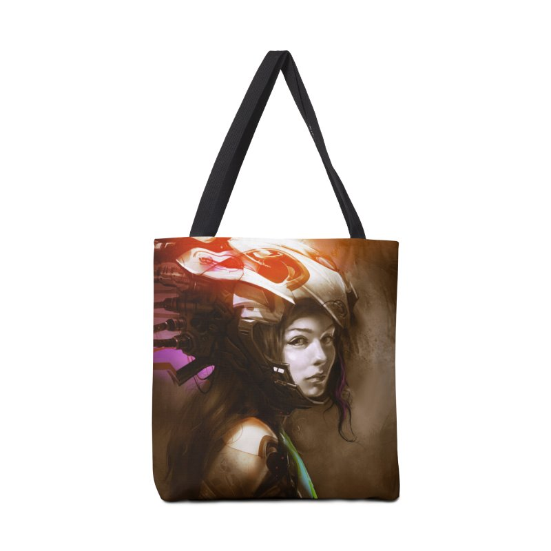 Hooked Up Accessories Tote Bag Bag by Draw Juice Custom Art Prints