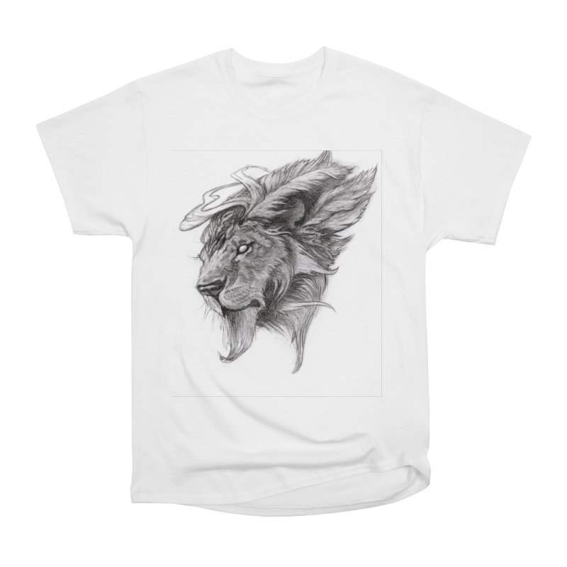 He isn't safe, but, he's good Women's T-Shirt by Draw Juice Custom Art Prints
