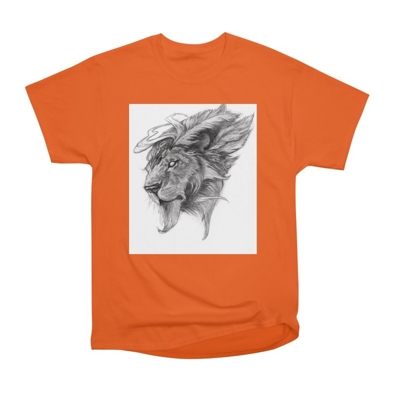 He isn't safe, but, he's good Men's T-Shirt by Draw Juice Custom Art Prints