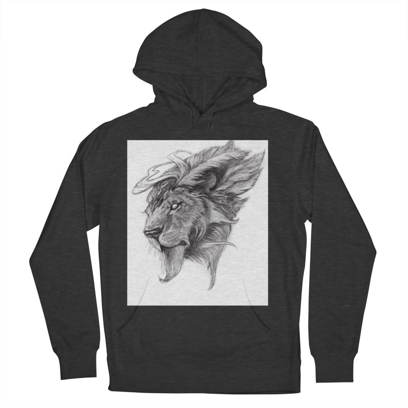 He isn't safe, but, he's good Women's French Terry Pullover Hoody by Draw Juice Custom Art Prints