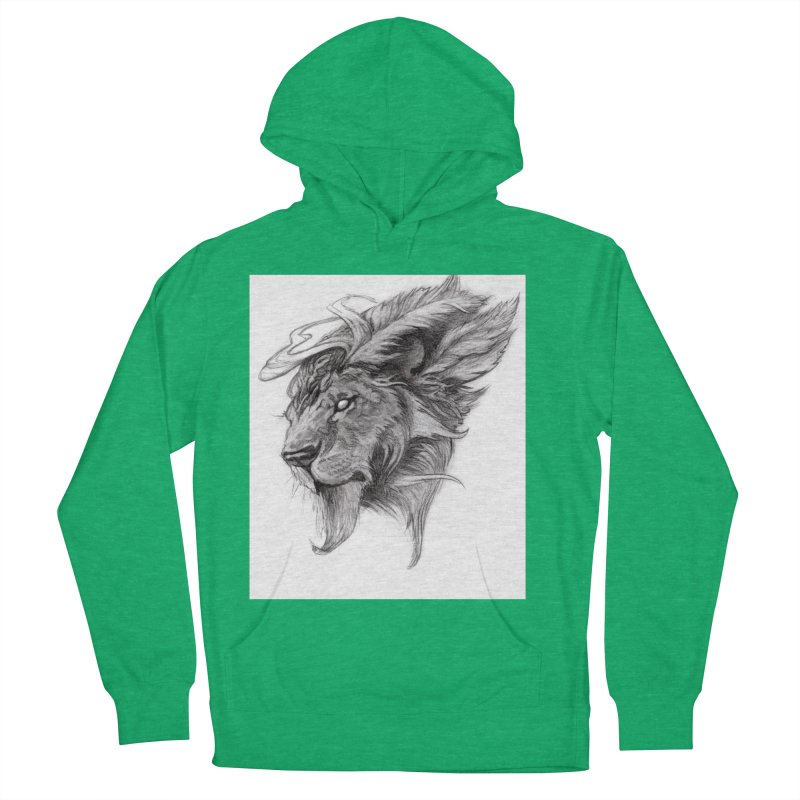 He isn't safe, but, he's good Men's French Terry Pullover Hoody by Draw Juice Custom Art Prints