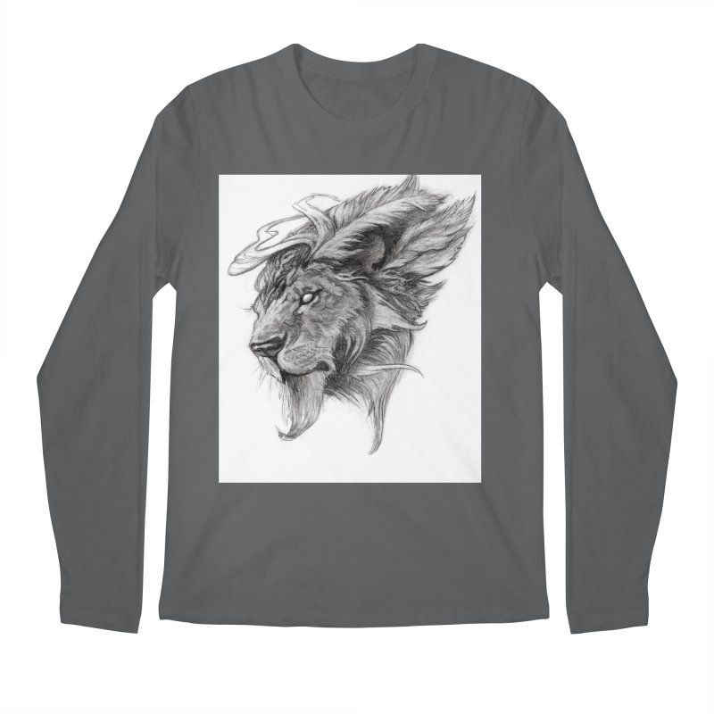 He isn't safe, but, he's good Men's Regular Longsleeve T-Shirt by Draw Juice Custom Art Prints