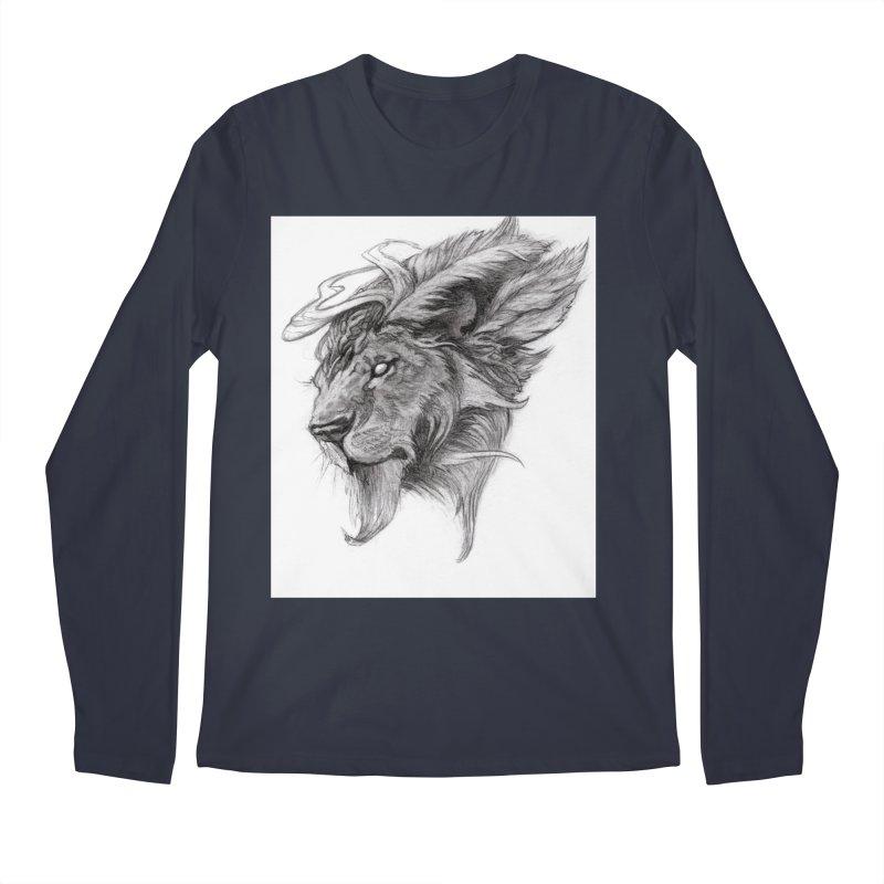 He isn't safe, but, he's good Men's Regular Longsleeve T-Shirt by Draw Juice Custom Art Prints