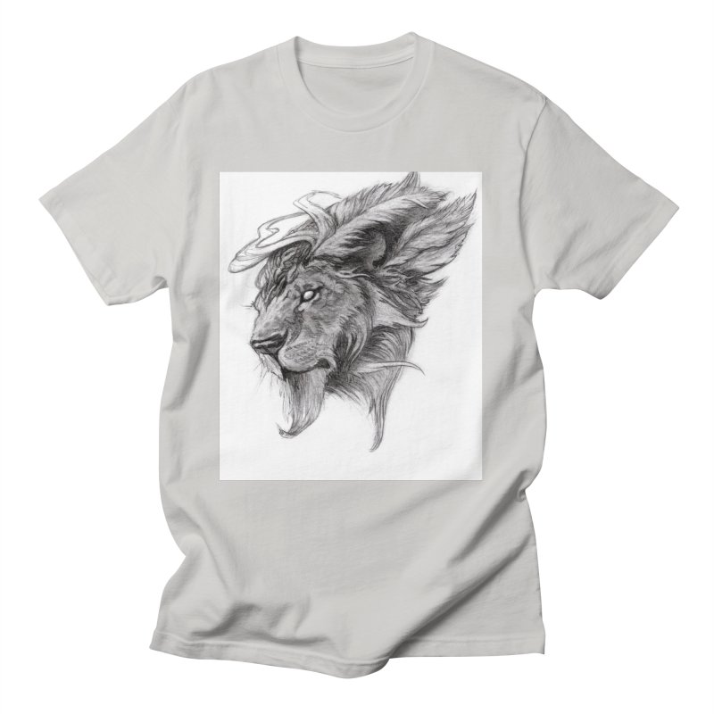 He isn't safe, but, he's good Women's Regular Unisex T-Shirt by Draw Juice Custom Art Prints