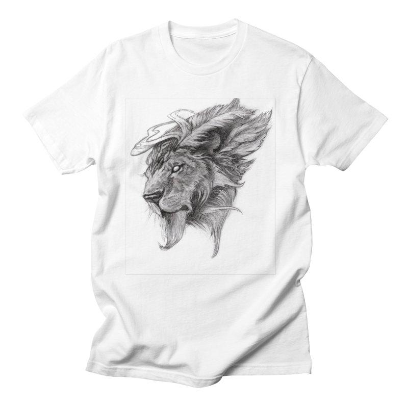 He isn't safe, but, he's good Women's Regular Unisex T-Shirt by Draw Juice Custom Art Prints