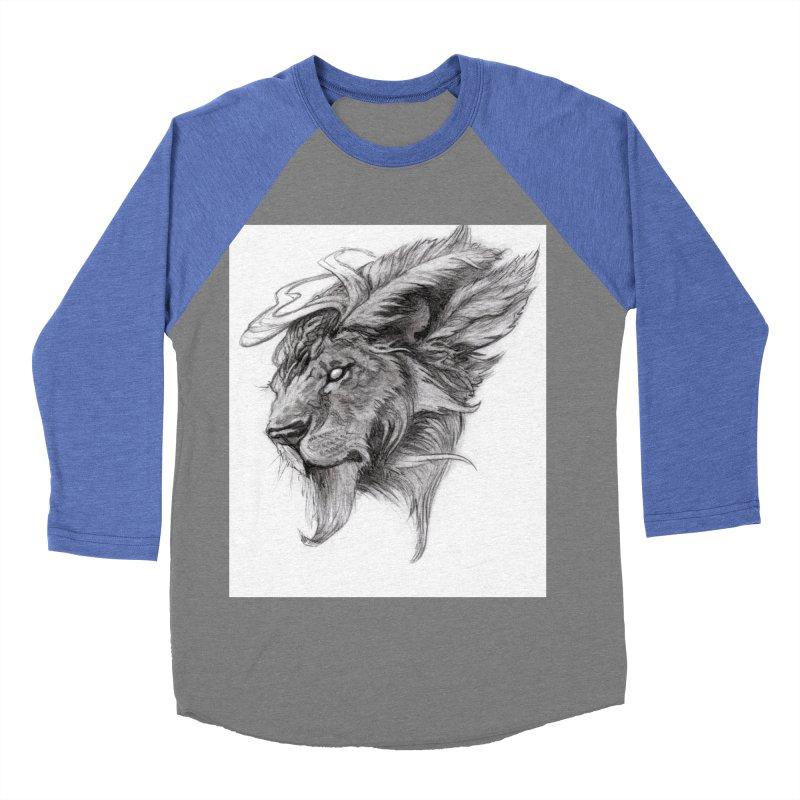 He isn't safe, but, he's good Women's Baseball Triblend Longsleeve T-Shirt by Draw Juice Custom Art Prints