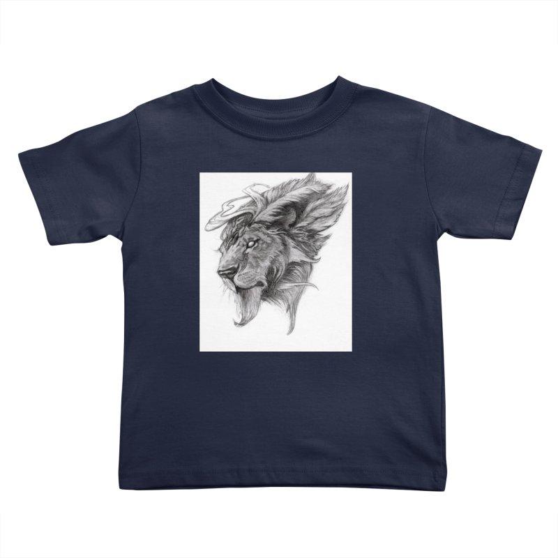He isn't safe, but, he's good Kids Toddler T-Shirt by Draw Juice Custom Art Prints