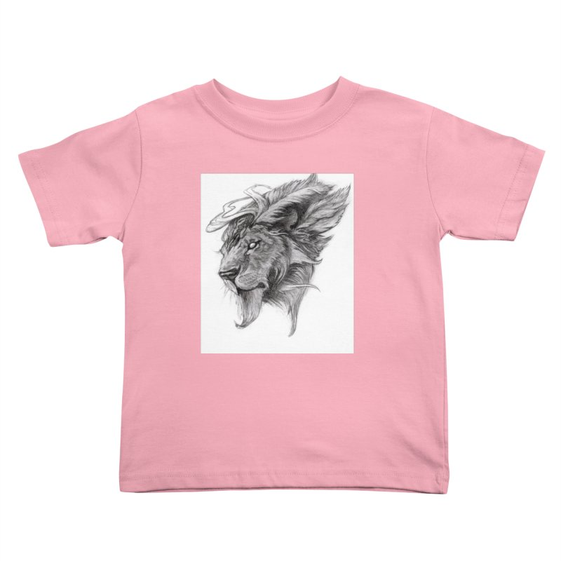 He isn't safe, but, he's good Kids Toddler T-Shirt by Draw Juice Custom Art Prints