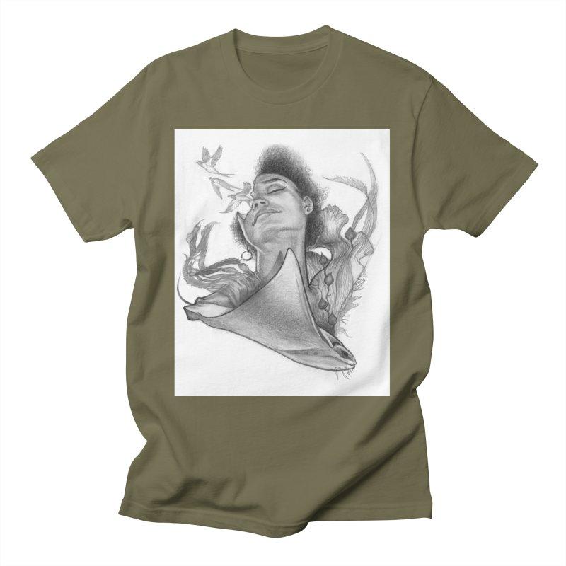 Kelp Dream Men's T-Shirt by Draw Juice Custom Art Prints
