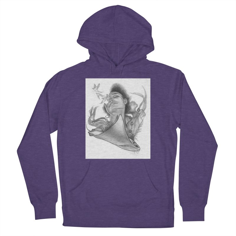 Kelp Dream Women's Pullover Hoody by Draw Juice Custom Art Prints