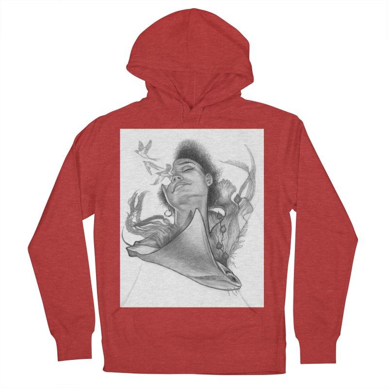 Kelp Dream Women's French Terry Pullover Hoody by Draw Juice Custom Art Prints