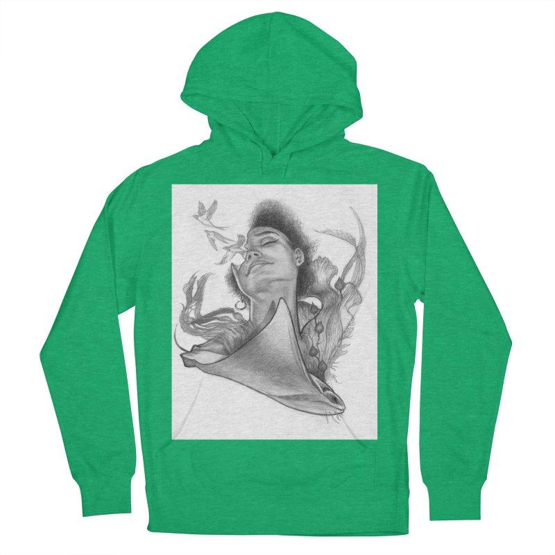 Kelp Dream Men's French Terry Pullover Hoody by Draw Juice Custom Art Prints