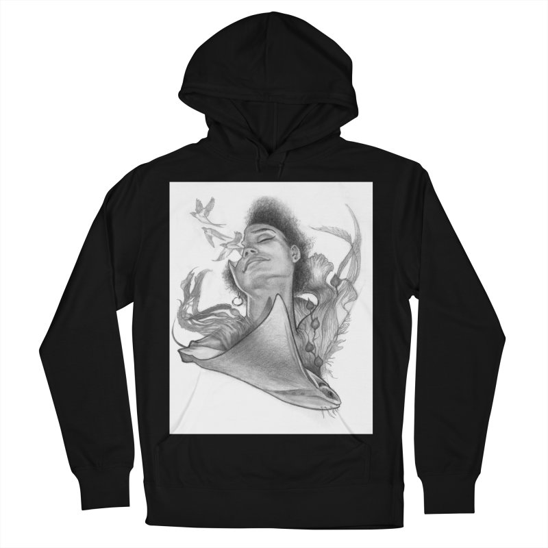 Kelp Dream Men's French Terry Pullover Hoody by Draw Juice Custom Art Prints
