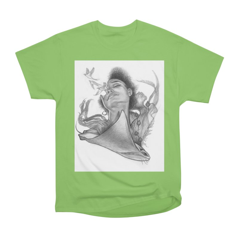 Kelp Dream Men's Heavyweight T-Shirt by Draw Juice Custom Art Prints