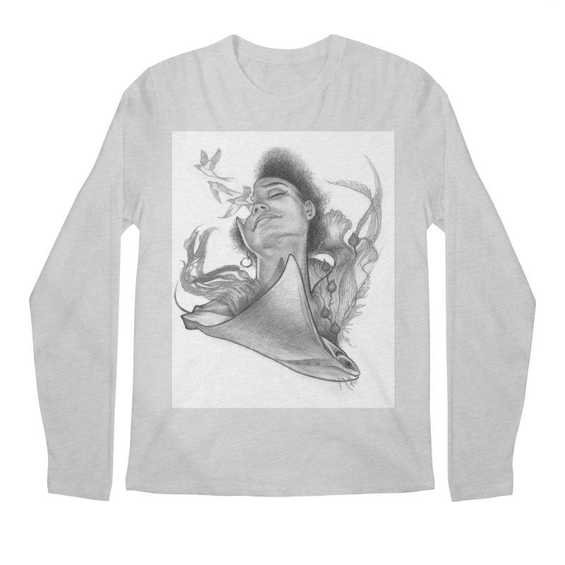 Kelp Dream Men's Regular Longsleeve T-Shirt by Draw Juice Custom Art Prints