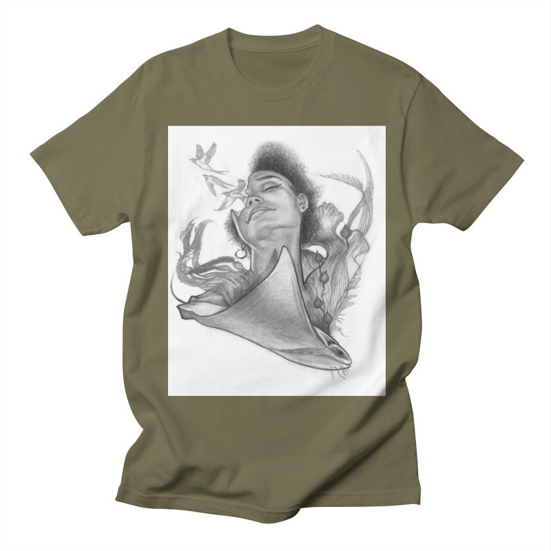 Kelp Dream Men's Regular T-Shirt by Draw Juice Custom Art Prints
