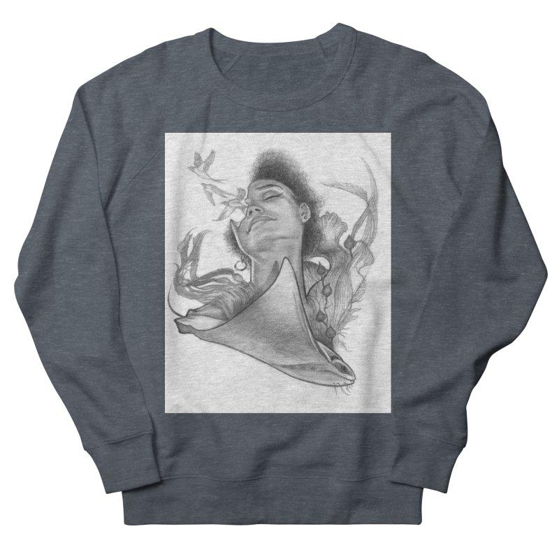 Kelp Dream Women's French Terry Sweatshirt by Draw Juice Custom Art Prints