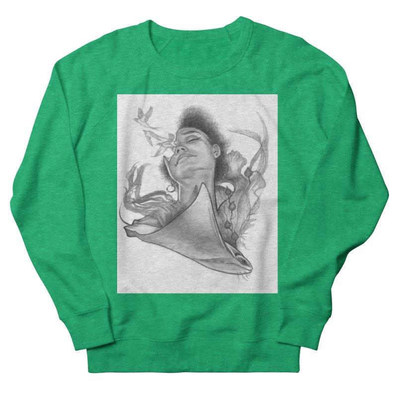 Kelp Dream Men's French Terry Sweatshirt by Draw Juice Custom Art Prints
