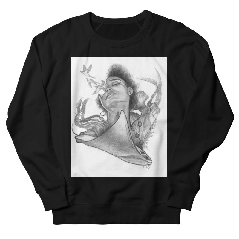 Kelp Dream Men's French Terry Sweatshirt by Draw Juice Custom Art Prints