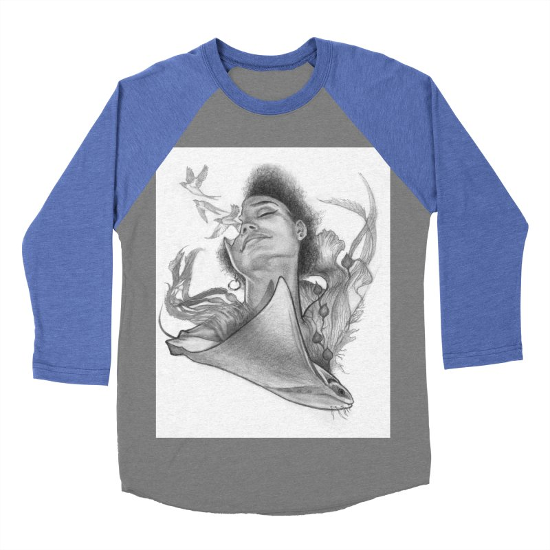 Kelp Dream Women's Baseball Triblend Longsleeve T-Shirt by Draw Juice Custom Art Prints