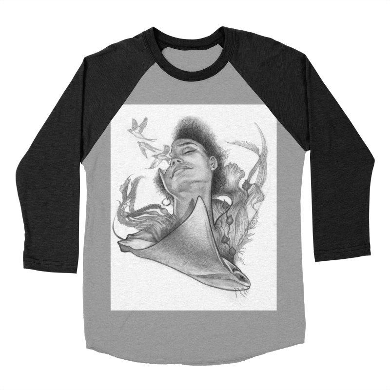 Kelp Dream Women's Baseball Triblend Longsleeve T-Shirt by Draw Juice Custom Art Prints