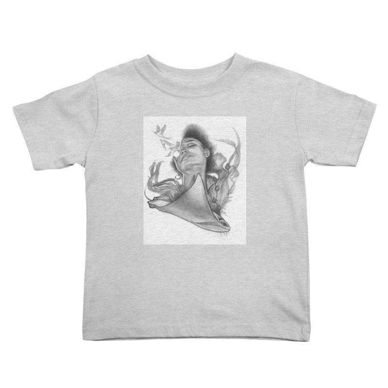 Kelp Dream Kids Toddler T-Shirt by Draw Juice Custom Art Prints